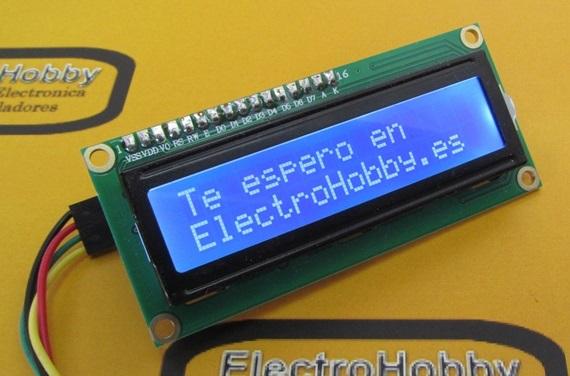Conversor LCD I2C para Arduino, maneja tu LCD con solo 2 hilos.