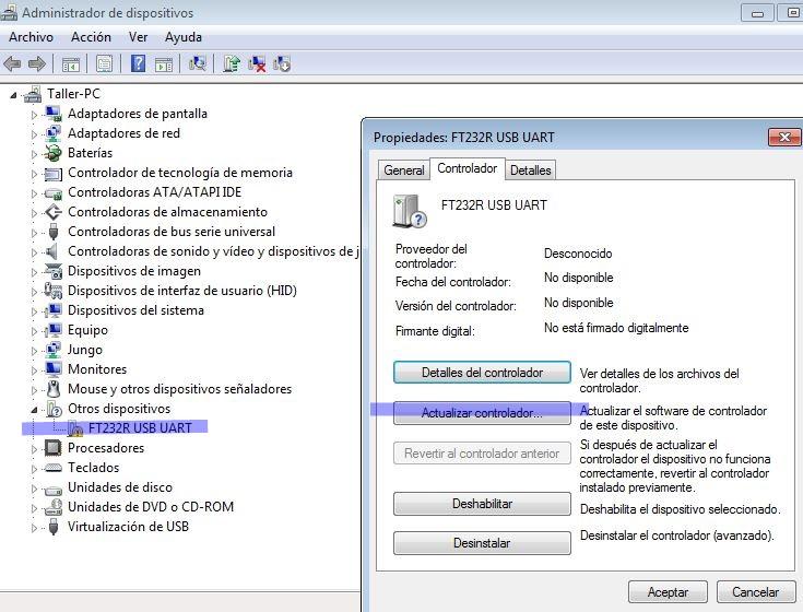 USB FTDI