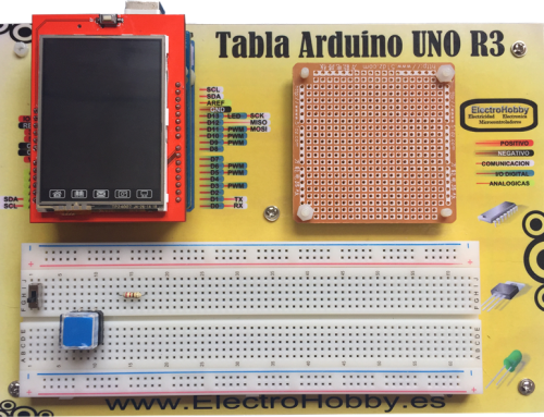 "TFT LCD Touch 2.4"" Shield para Arduino UNO"